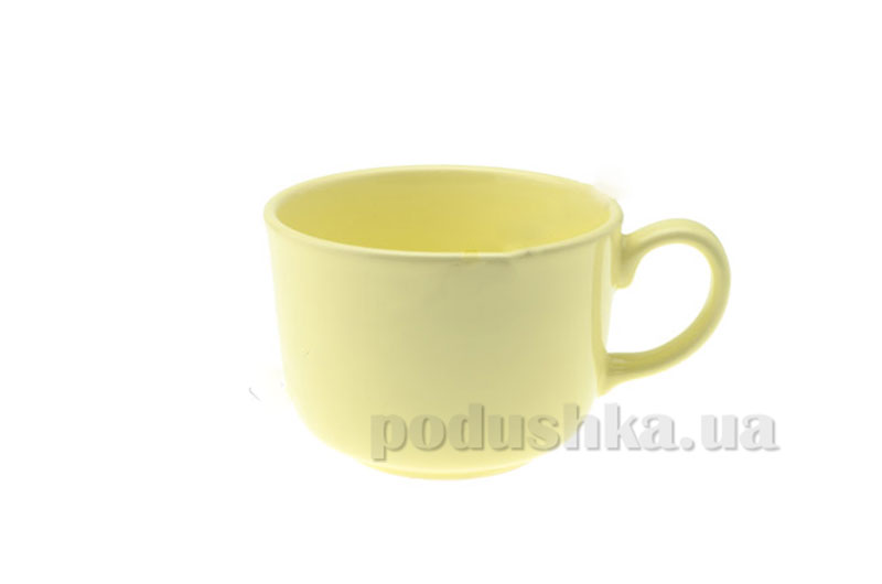 Кружка Jumbo 490 мл Light Yellow