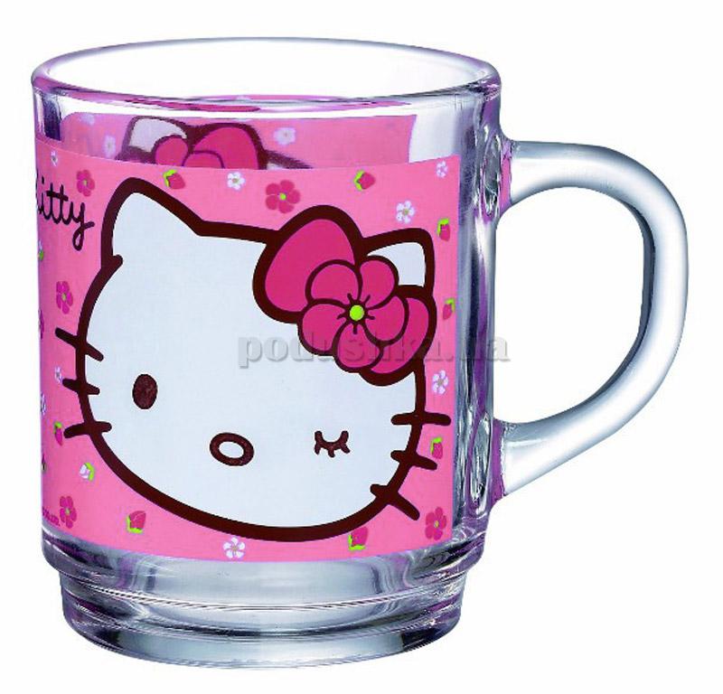 Кружка Luminarc HELLO KITTY сладкий розовый H5480