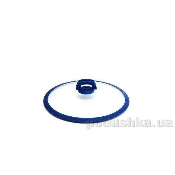 Крышка синяя силиконовая ручка Gipfel SMART 32 см