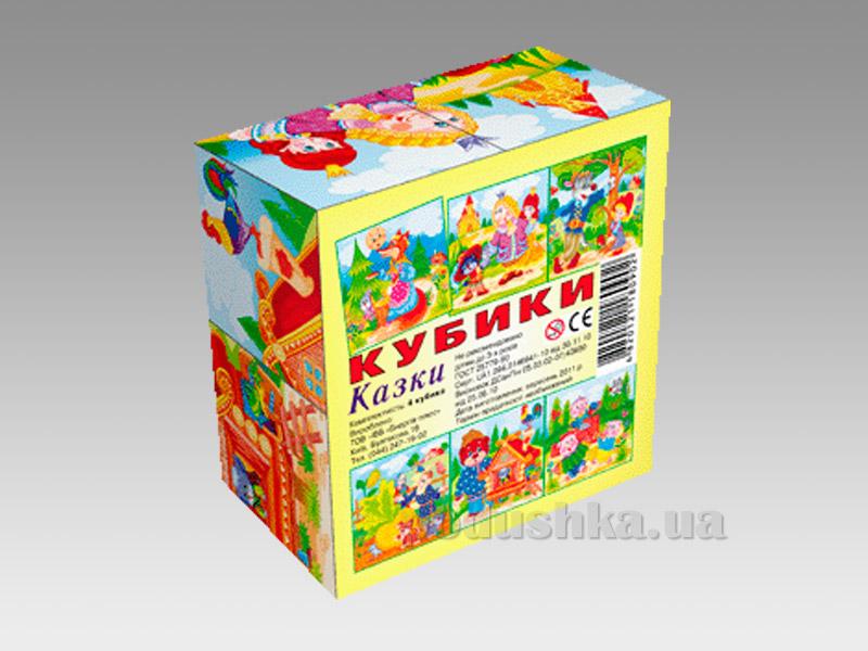 Кубики Energy Plus Сказки 4 шт