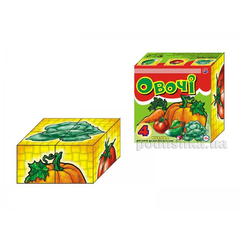 Кубики Технок Овощи 1349