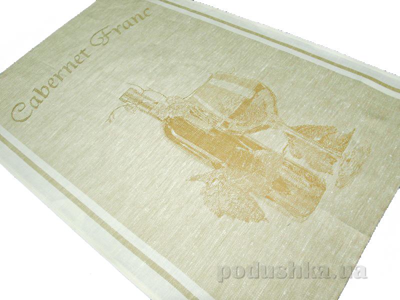 Кухонное полотенце Белорусский лен 06с22 Каберне фран