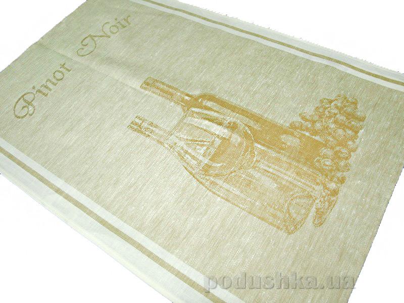 Кухонное полотенце Белорусский лен 06с22 Пино нуар