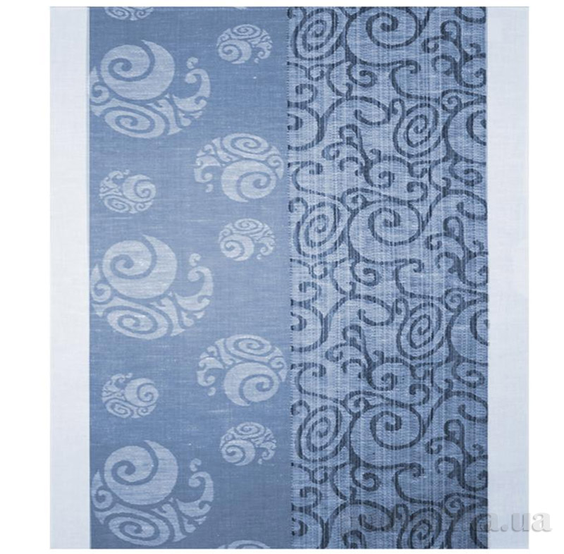 Кухонное полотенце Белорусский лен 08с74 синее
