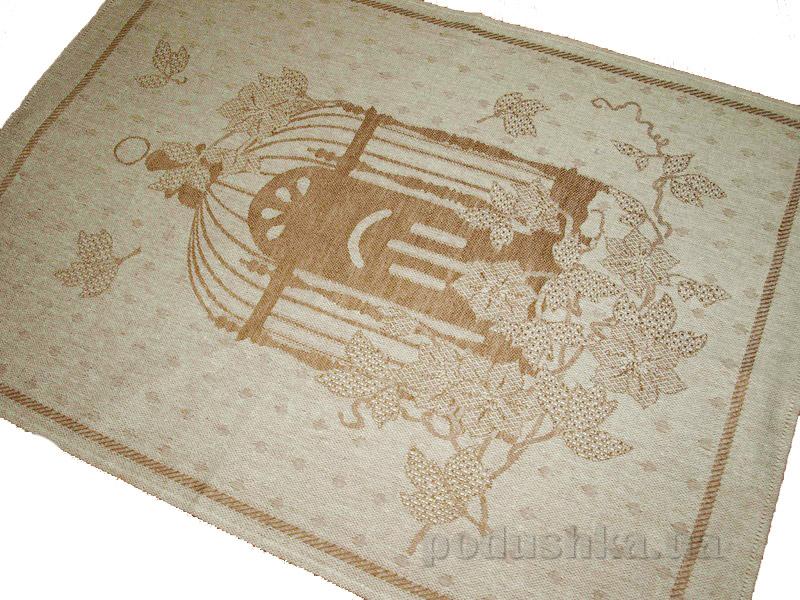 Кухонное полотенце Белорусский лен 10с197 Сэра коричневый