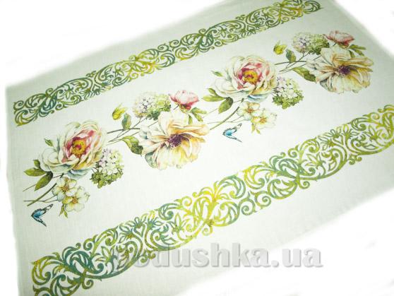 Кухонное полотенце Белорусский лен 10с594 Музыка весны