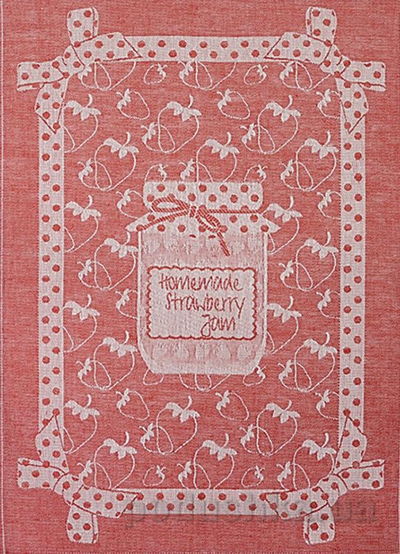 Кухонное полотенце Белорусский лен 11С420 Конфитюр-клубника 202 10