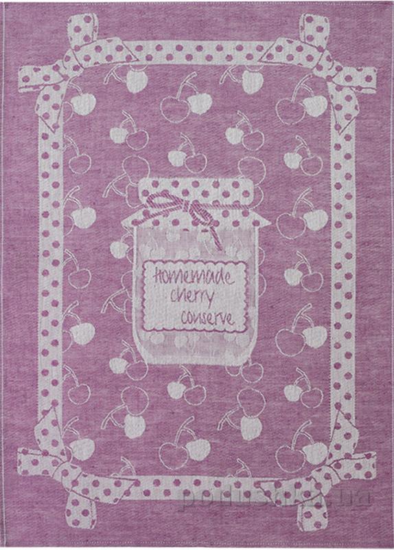 Кухонное полотенце Белорусский лен 11С420 Конфитюр-вишня 203 78
