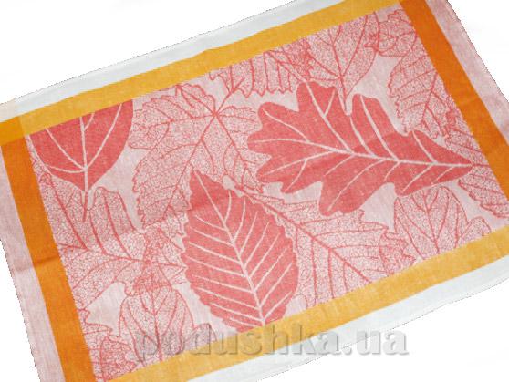 Кухонное полотенце Белорусский лен 11с420 Осеннее кружево
