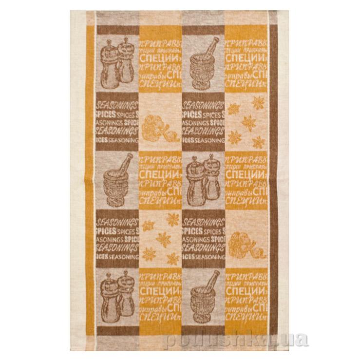 Кухонное полотенце Белорусский лен 13с126 Чеснок-бадьян