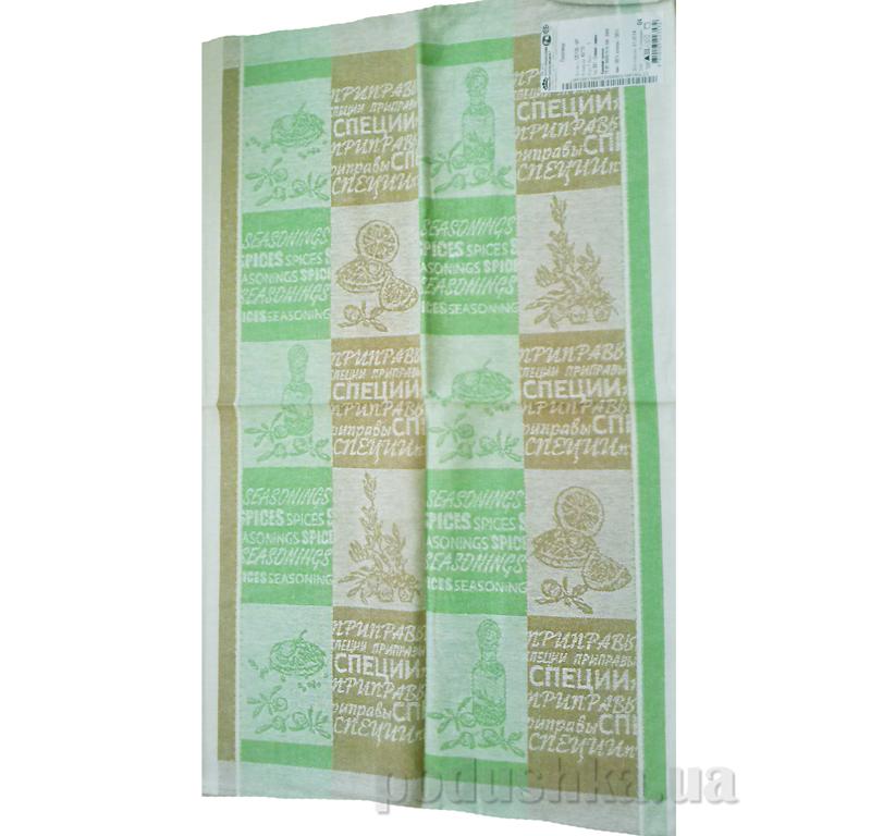 Кухонное полотенце Белорусский лен 13с126 Оливки-лимон