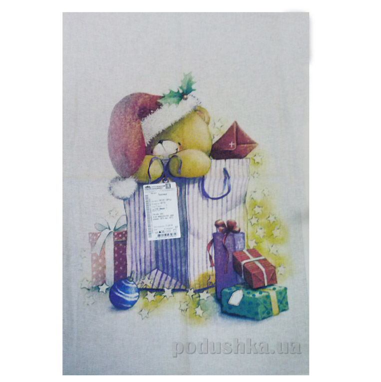 Кухонное полотенце Белорусский лен 14с167 Мишки 1