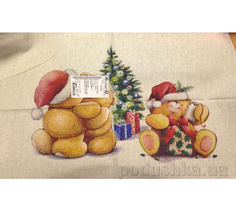 Кухонное полотенце Белорусский лен 14с167 Мишки 2