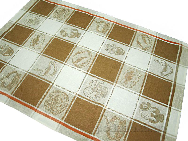 Кухонное полотенце Белорусский лен Хлеб зернистый 11с420