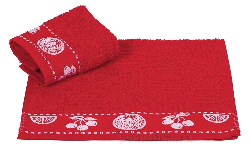 Кухонное полотенце Hobby Meyve Nar cicegi красное