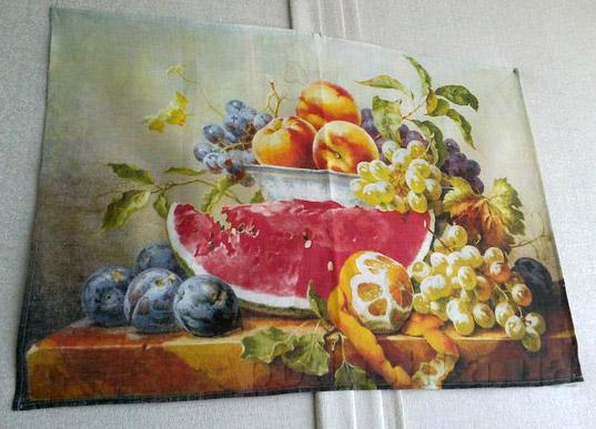 Кухонное полотенце Натюрморт 09с93-ШР