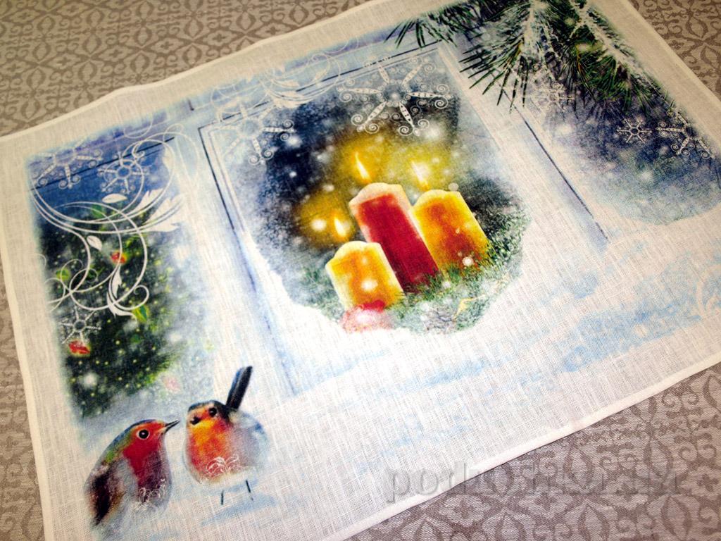 Кухонное полотенце Рождественское 10с594-ШР
