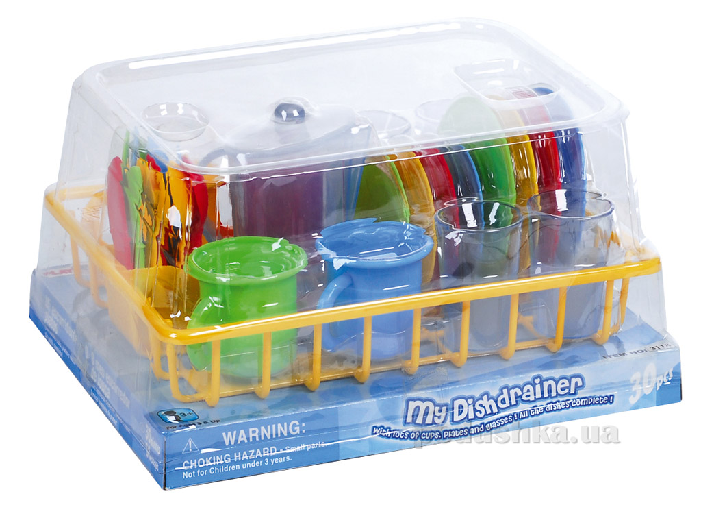 Кухонный набор на подносе PlayGo