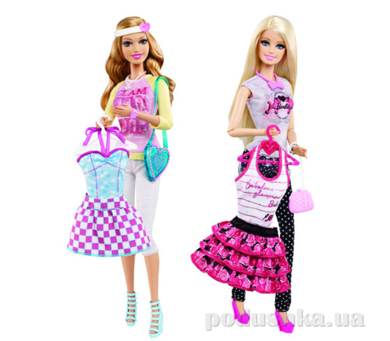 Кукла Барби Модница с набором большой гардероб Barbie