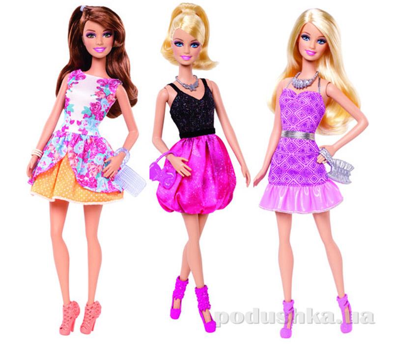 Кукла Барби Модница серии Модная вечеринка в ассортименте Barbie