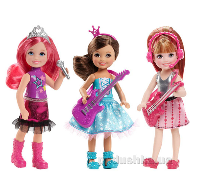 Кукла Barbie Челси Рок-принцеса в ассортименте CKB68