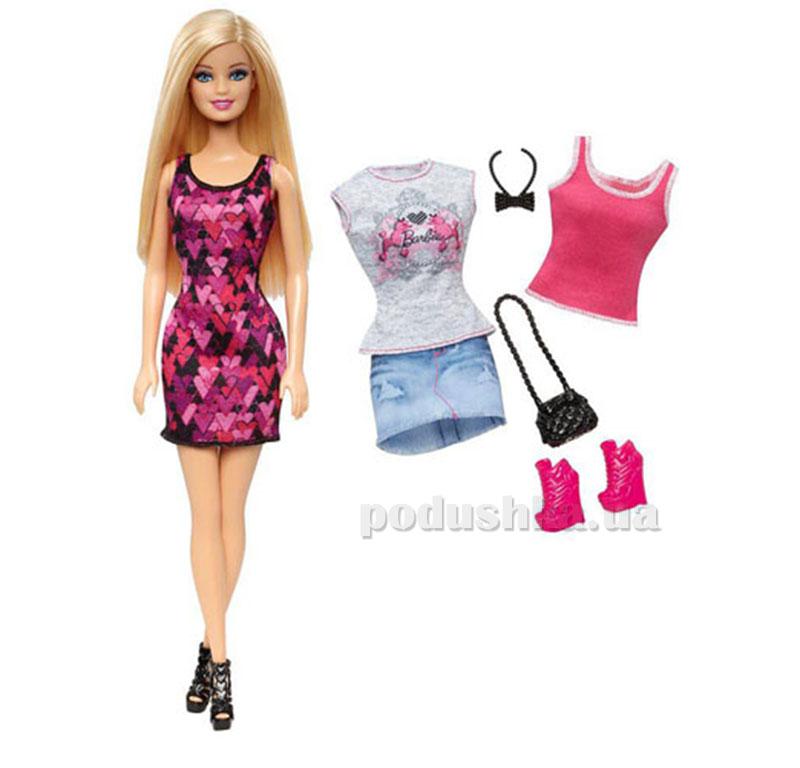 Кукла Barbie Модница с одеждой в ассортименте CDM10