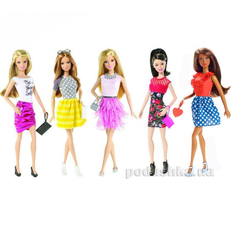 Кукла Barbie Модница в ассортименте DFT85
