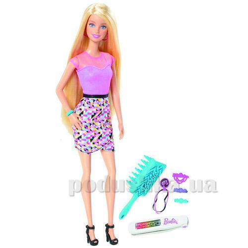 Кукла Barbie Радужные волосы