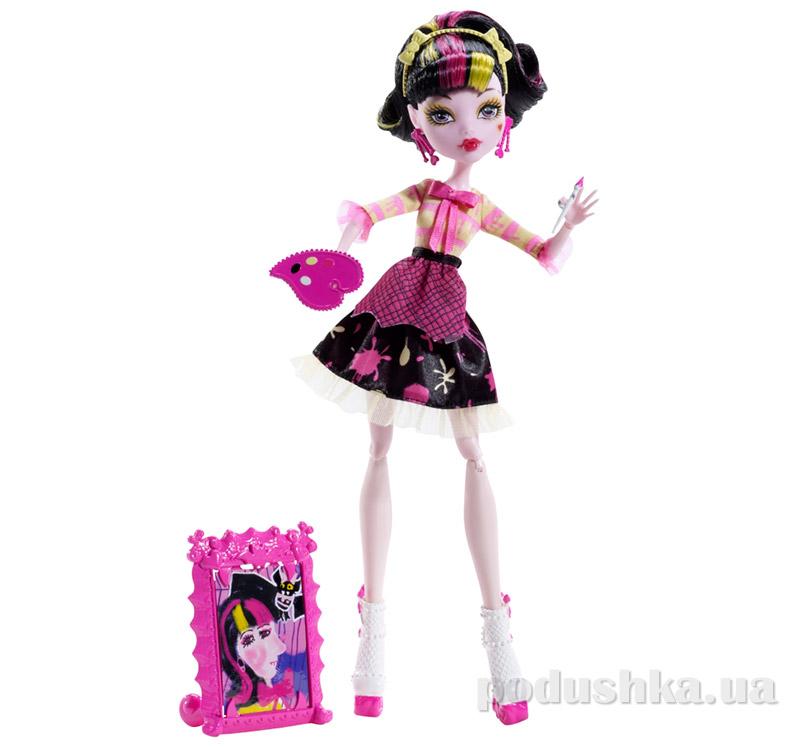 Кукла Дракулора Монстер Хай Art Class Draculaura Mattel BDF12