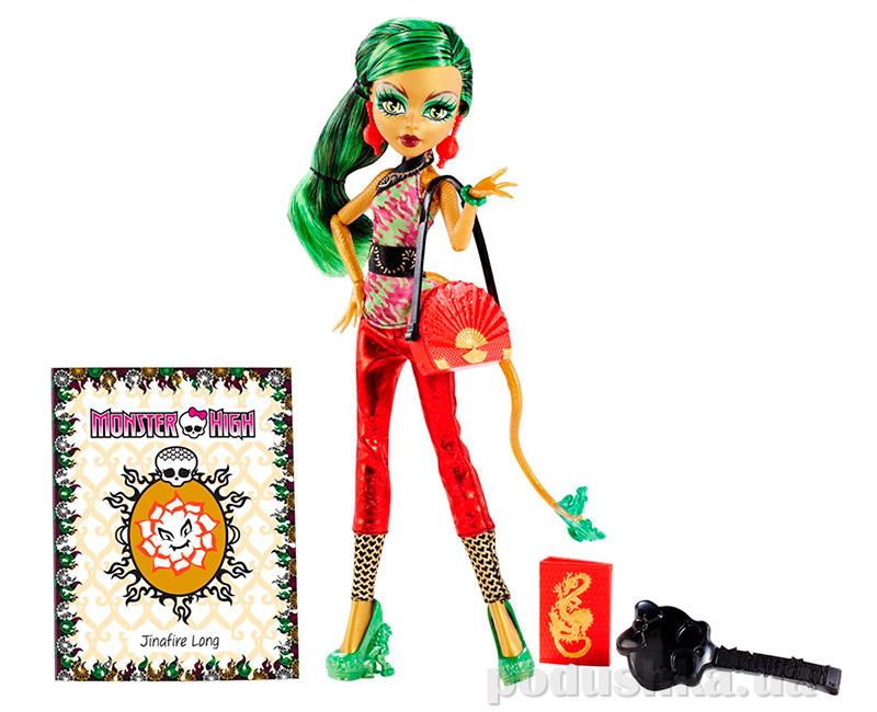 Кукла Джинафайер Лонг Монстер Хай Scaremester Jinafire Long Mattel BDD80