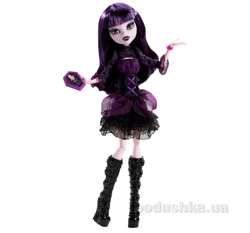 Кукла Элиссабэт Монстер Хай Frights Camera Action New Stars Doll Elissabat Mattel BDD87
