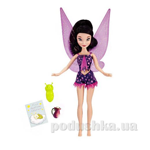 Кукла Фея Видия Пижамная вечеринка 49848 Fairies Jakks