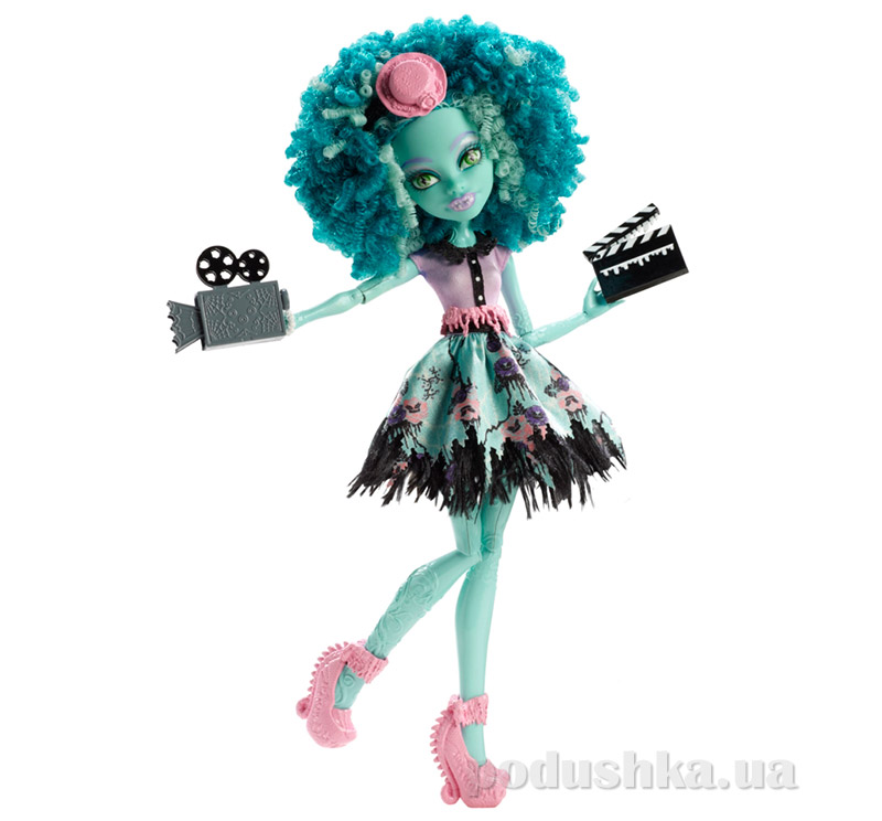 Кукла Хани Свомп Монстер Хай Frights Camera Action New Stars Doll Honey Swamp Mattel BDD86