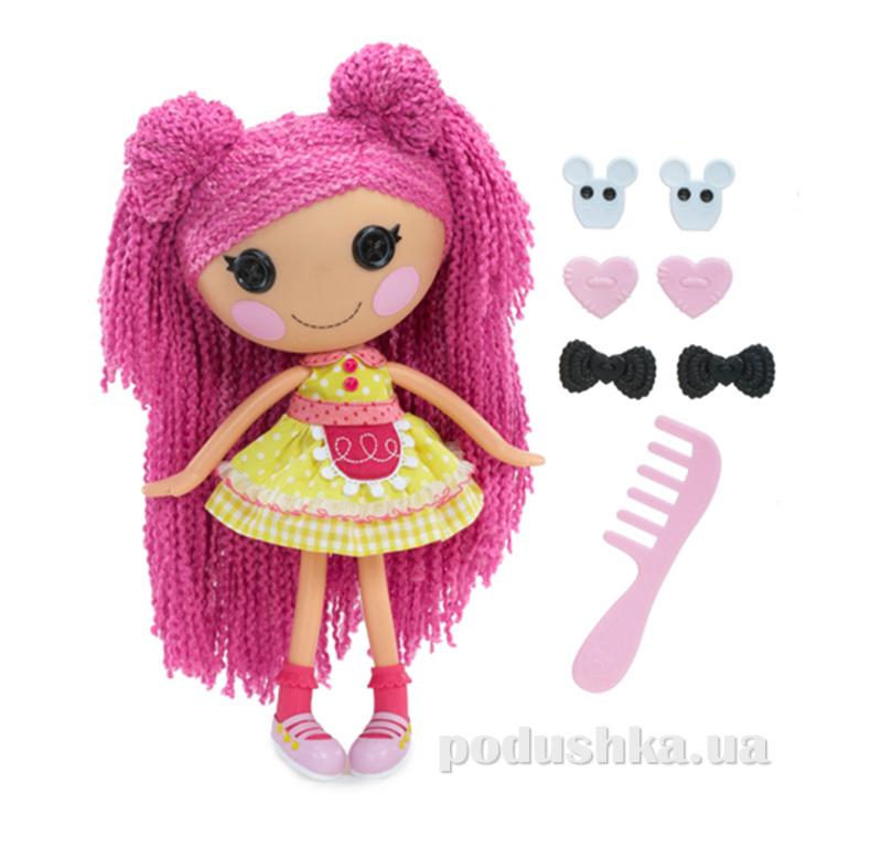 Кукла Lalaloopsy серии Кудряшки-симпатяшки - Печенюшка-сладкоежка 531494 (с аксессуарами)