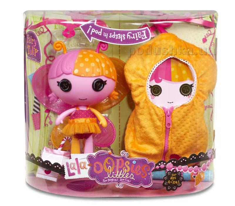 Кукла Малышка Lala-Oopsie серии Мотыльки Феечка Тюльпания 520085