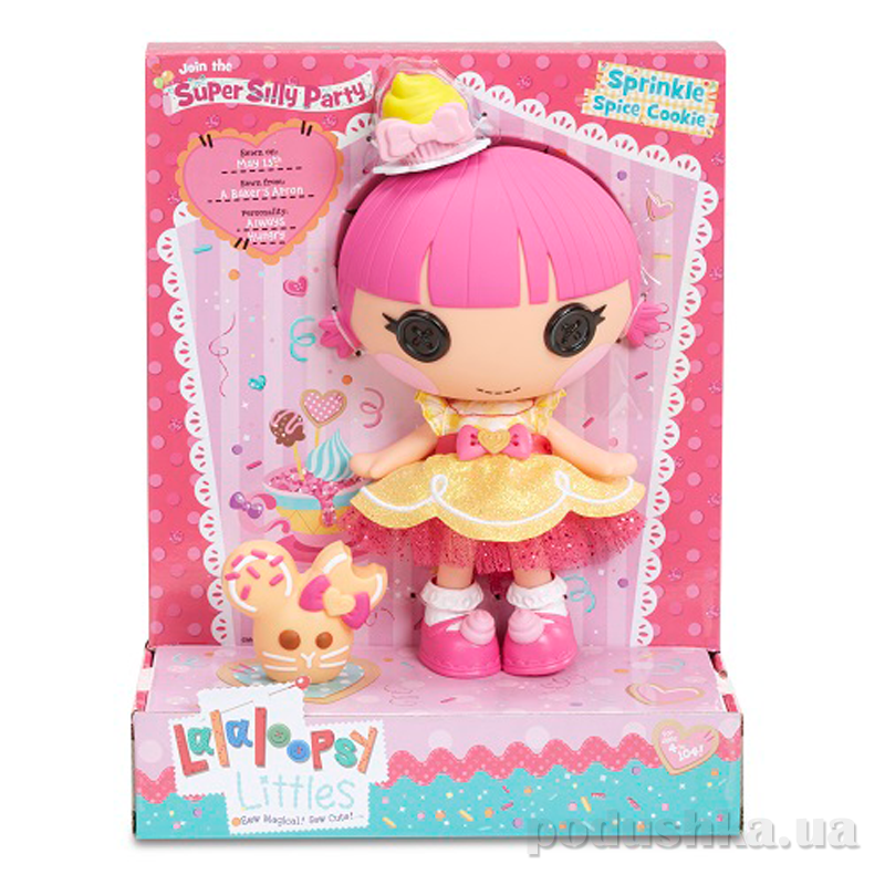Кукла Малышка серии Lalabration Печенюшка Сладкоежка Lalaloopsy 539742