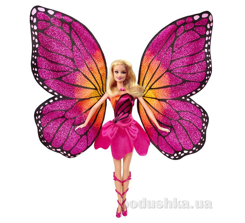 Кукла Марипоса из мультфильма Барби Barbie: Марипоса и Принцесса фей Mattel Y6372
