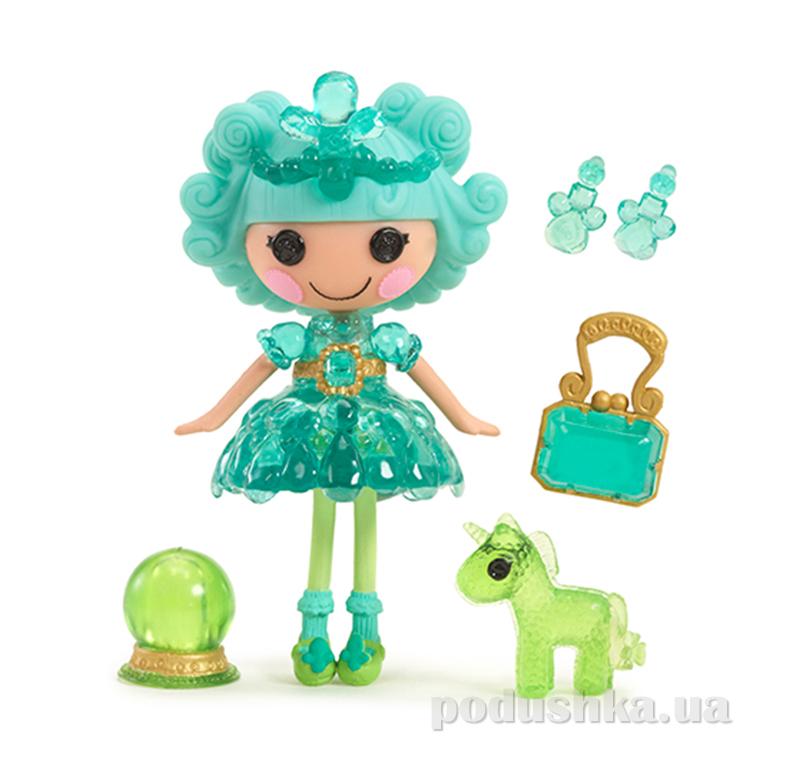 Кукла MiniLalaloopsy из серии Принцессы-самоцветы, Изумруд (с аксессуарами) 529712