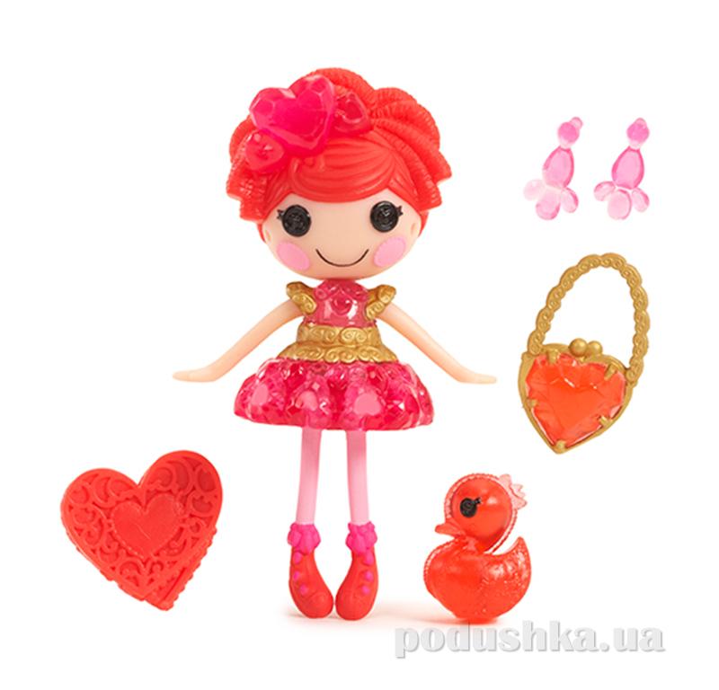 Кукла MiniLalaloopsy из серии Принцессы-самоцветы, Рубин (с аксессуарами) 529743