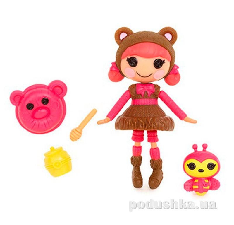 Кукла MiniLalaloopsy из серии Забавные пуговки Сладкоежка Тедди (с аксессуарами) 527268