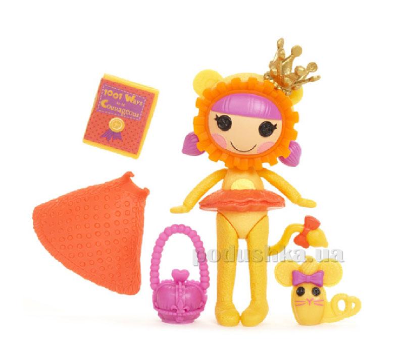 Кукла Minilalaloopsy серии Изумрудный город Храбрый Лев (с аксессуарами) 522423