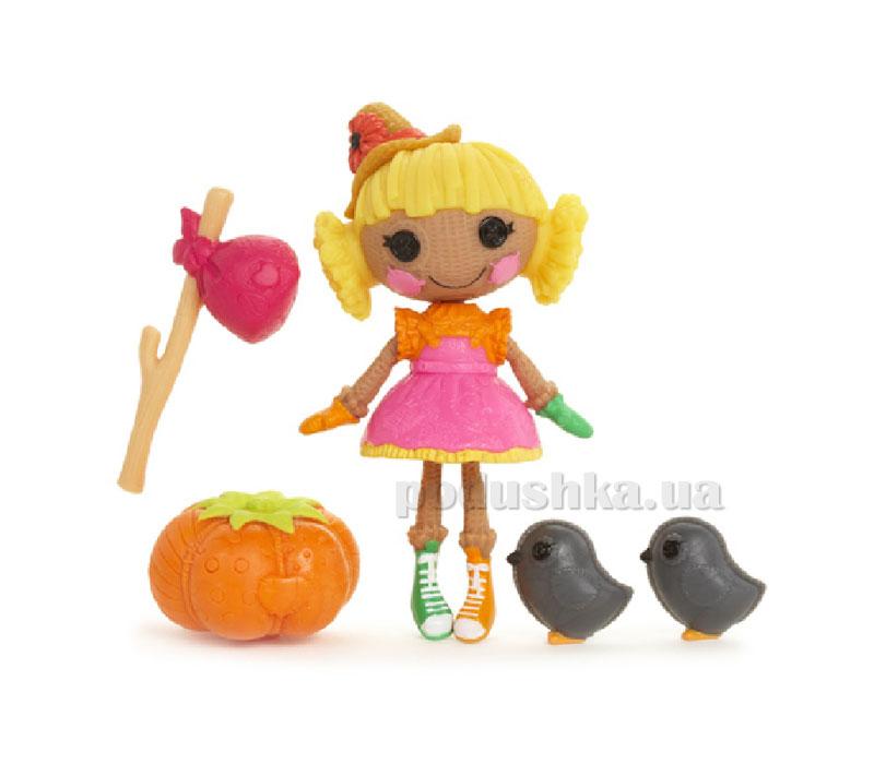 Кукла Minilalaloopsy серии Изумрудный город Соломенный друг Элли (с аксессуарами) 522416