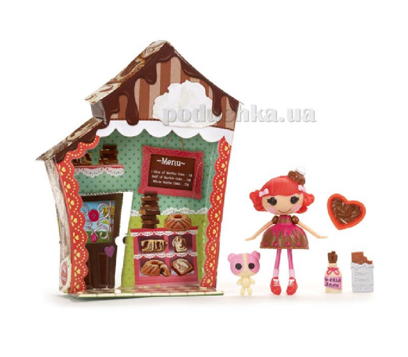 Кукла Minilalaloopsy серии Королевство сладостей Шоколадница (с аксессуарами) 520450
