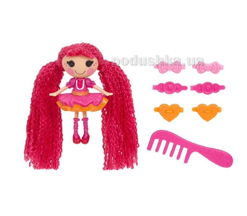 Кукла Minilalaloopsy серии Кудряшки-симпатяшки Дюймовочка-балерина (с аксессуарами) 527503