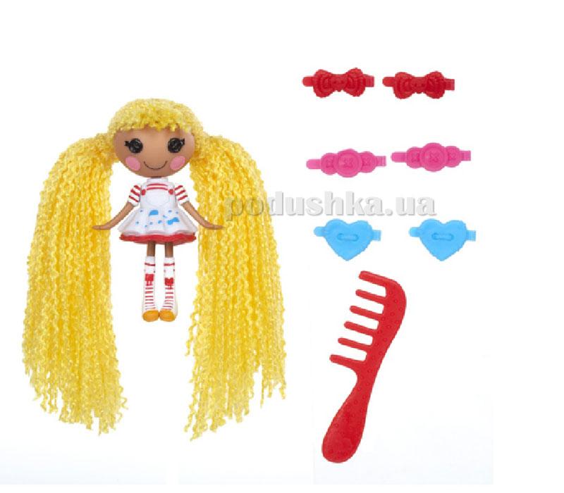 Кукла Minilalaloopsy серии Кудряшки-симпатяшки Художница (с аксессуарами) 522171