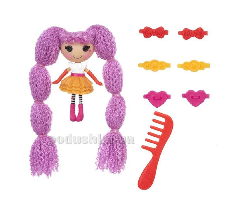 Кукла Minilalaloopsy серии Кудряшки-симпатяшки Смешинка (с аксессуарами) 522188