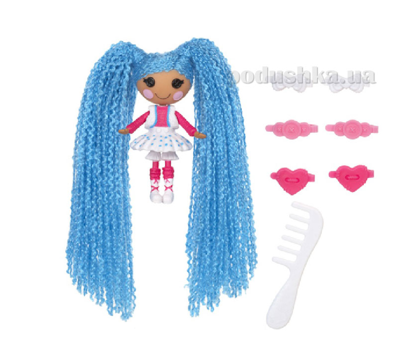 Кукла Minilalaloopsy серии Кудряшки-симпатяшки Снежинка (с аксессуарами) 522164