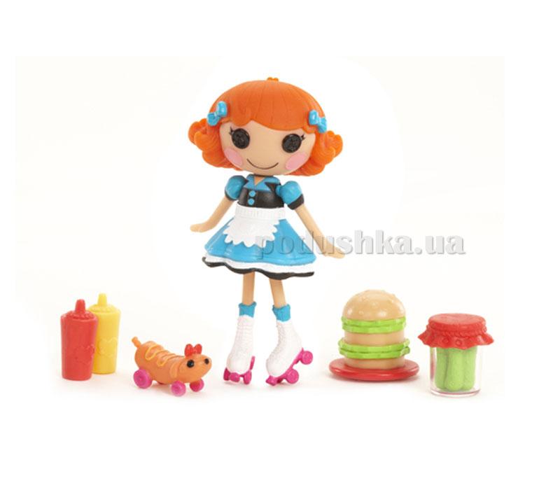 Кукла Minilalaloopsy серии Маленькие пуговки Хозяюшка (с аксессуарами) 522447