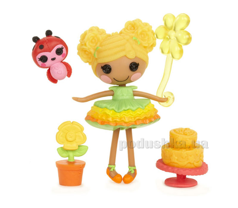 Кукла Minilalaloopsy серии Цветочные феи Хризантема (с аксессуарами) 527213