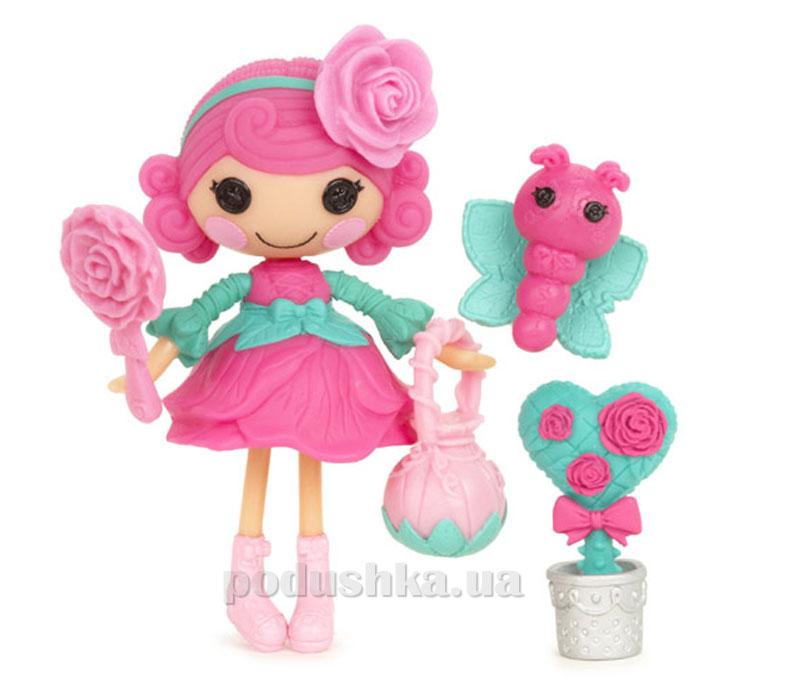 Кукла Minilalaloopsy серии Цветочные феи Розочка (с аксессуарами) 527220